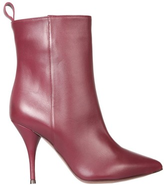 L'Autre Chose Pointed-Toe Ankle Boots