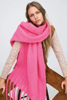 Anthropologie Barclay Fringed Wrap Scarf