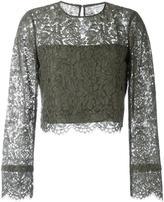 Diane von Furstenberg 'Yeva' blouse - women - Cotton/Polyamide/Polyester/Viscose - 4