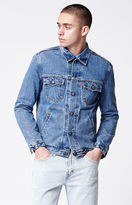 Levi's Orange Tab Denim Garrett Wash Trucker Jacket