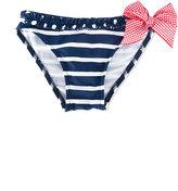 Amaia - striped bikini bottoms - kids - Cotton - 2 yrs