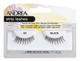 Andrea Eyelash Strip Lashes Black [53] 1 ea (Pack of 4)