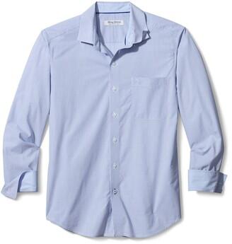 Tommy Bahama Newport Coast Fine Line Stripe Button-Up Shirt