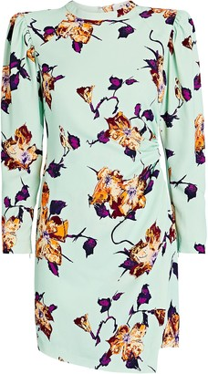 A.L.C. Jane Draped Floral Dress