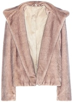 Helmut Lang Faux Fur Jacket