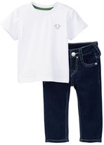 True Religion Buddha Tee Set (Baby Boys)