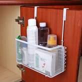 Angelbubbles Hanging Organizer Basket For Kitchen Cabinet Bathroom