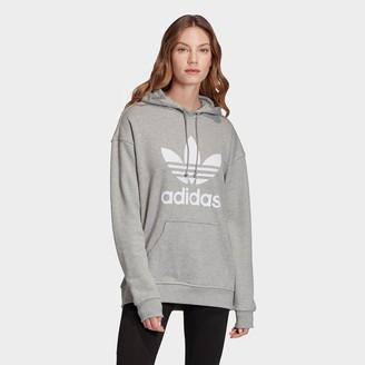adidas Women's Heritage Trefoil Logo Hoodie