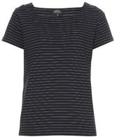 A.P.C. East Coast striped cotton-jersey T-shirt