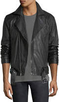 Joe's Jeans Hunt Leather Moto Jacket