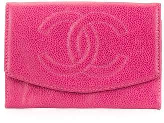 Chanel Pre-Owned 1992's CC Stitch wallet