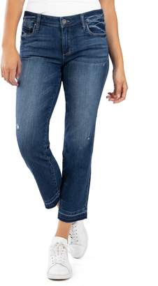 KUT from the Kloth Reese High Waist Ankle Straight Leg Jeans