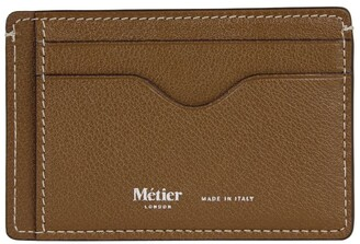 Metier London Buffalo Leather Card Holder