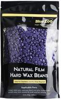 Bluezoo Stripless Professional Hot Film Hair Removal Hard Wax Beads for Depilatory on All kinds of Skin Types,250g/Bag