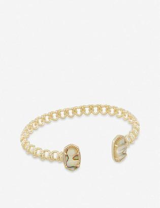 Kendra Scott Macrame Elton 14ct gold-plated brass bracelet