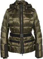 Bogner Gloria Hooded Quilted Satin-Twill Down Jacket