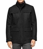 Calvin Klein Men's 4 Pocket Wool Coat