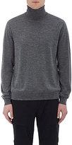 Vince Men's Fine-Gauge Turtleneck Sweater-GREY