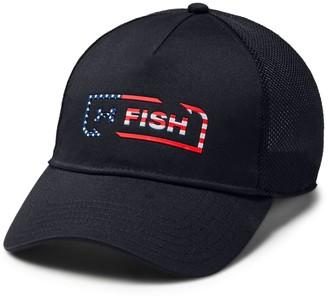 Under Armour Men's UA Fish Hook Trucker Cap
