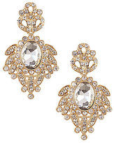 Natasha Accessories Spider Stone Statement Earrings