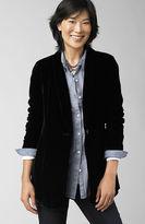J. Jill Velvet boyfriend jacket