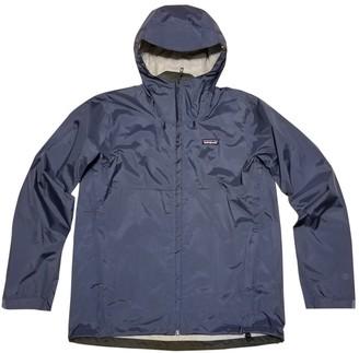 Patagonia Navy Polyester Jackets