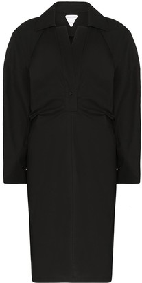 Bottega Veneta Storm-Flap Trench Dress