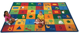 """Carpets for Kids Printed Learning Blocks Area Rug Rug Size: Rectangle 8'4"""" x 11'8"""""""
