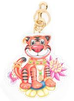 Moschino jewelled tiger keyring - women - Calf Leather/metal - One Size