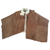 Burberry shearling cape
