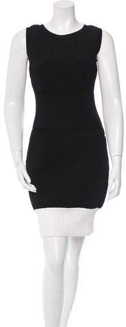 Chanel Quilted Sleeveless Dress