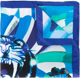 Etro tiger print scarf - men - Silk - One Size