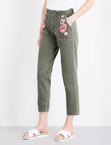 Claudie Pierlot Parker skinny high-rise jeans