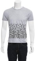 Lanvin Abstract Print Crew Neck T-Shirt