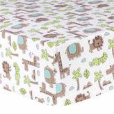 TREND LAB, LLC Trend Lab Sage Safari Flannel Crib Sheet
