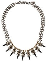 Dannijo Crystal Bib Necklace