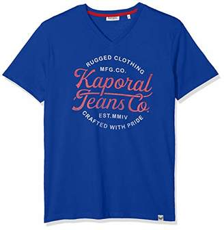 Kaporal Men's OBUCE T-Shirt, Red M11 French
