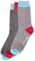Ben Sherman 3-Pack Monty Crew Socks