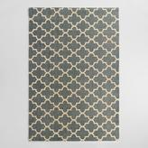 Blue Moroccan Jute Boucle Emy Area Rug