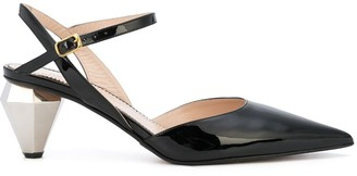 Marc Jacobs cushioned heart pumps