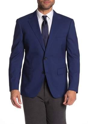 Bonobos Jetsetter Blue Check Two Button Notch Lapel Standard Fit Suit Jacket