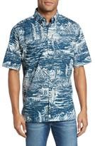 Reyn Spooner Men's Ino Kai Classic Fit Print Sport Shirt