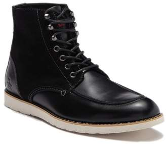 Original Penguin Ned Leather Lace-Up Boot