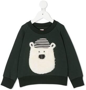Wauw Capow By Bangbang Hello Teddy sweatshirt