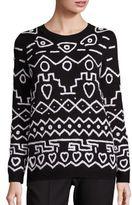 Max Mara Tione Reversible Wool Sweater