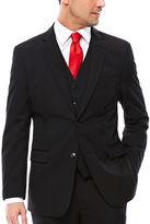USPA U.S. Polo Assn. Black Stripe Suit Jacket - Classic Fit