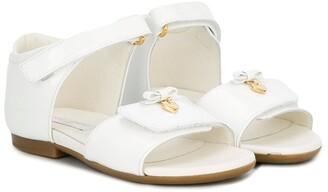 Dolce & Gabbana Bow Heart Sandals