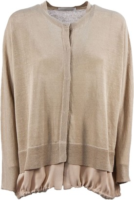Fabiana Filippi Linen And Silk Cardigan