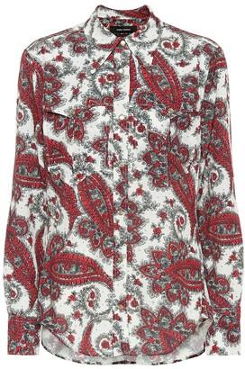 Isabel Marant Tania paisley-printed shirt