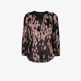 Isabel Marant floral print pleated blouse
